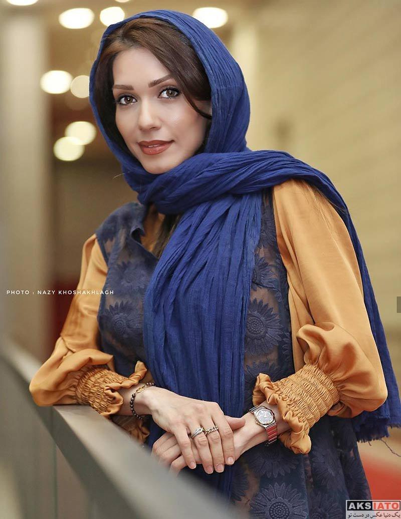 بازیگران بازیگران زن ایرانی جشنواره جهانی فیلم فجر  شهرزاد کمال زاده در سی و هفتمین جشنواره جهانی فیلم فجر (۴ عکس)