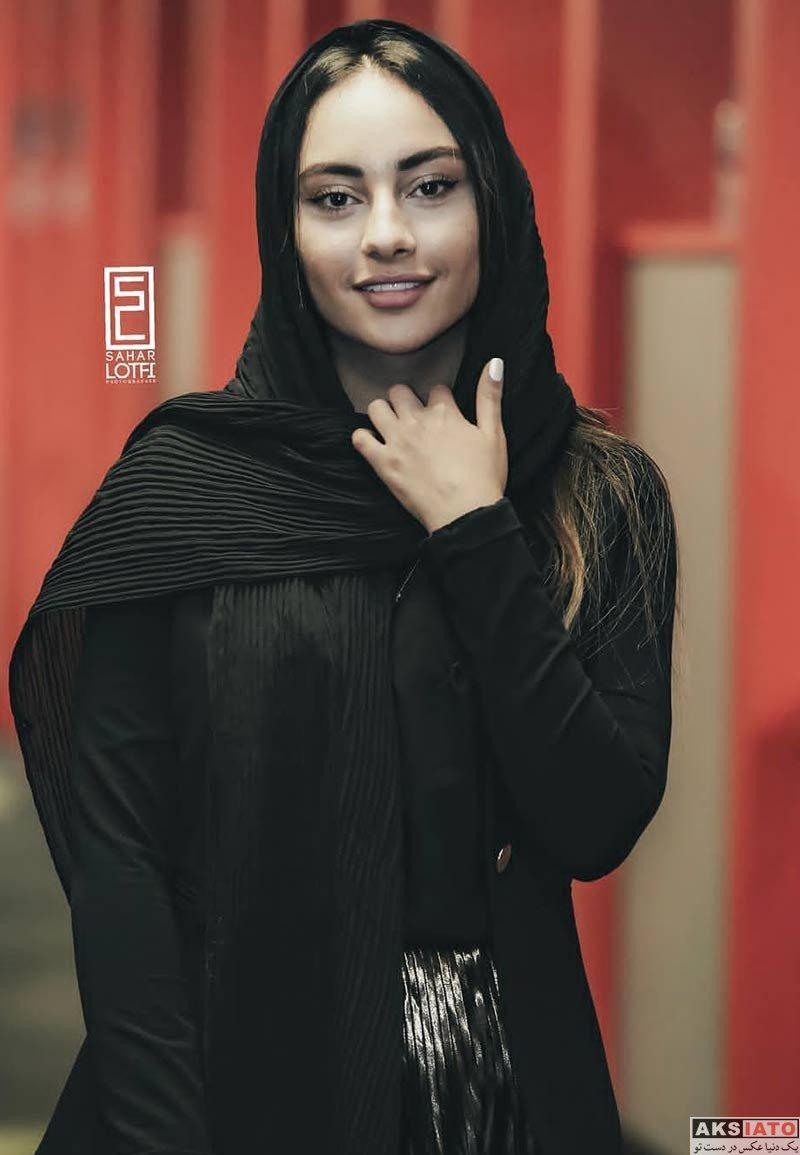 بازیگران جشنواره جهانی فیلم فجر  ترلان پروانه در سی و هفتمین جشنواره جهانی فیلم فجر (۴ عکس)
