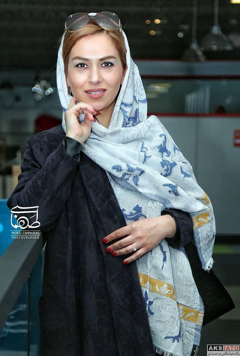 بازیگران جشنواره جهانی فیلم فجر  تینا پاکروان در سی و هفتمین جشنواره جهانی فیلم فجر (3 عکس)