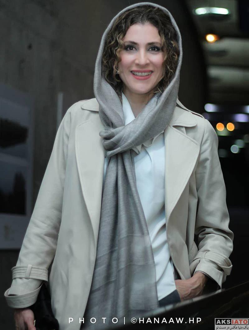 بازیگران بازیگران زن ایرانی  ویشکا آسایش در اکران مردمی فیلم سینمایی تختی (۴ عکس)