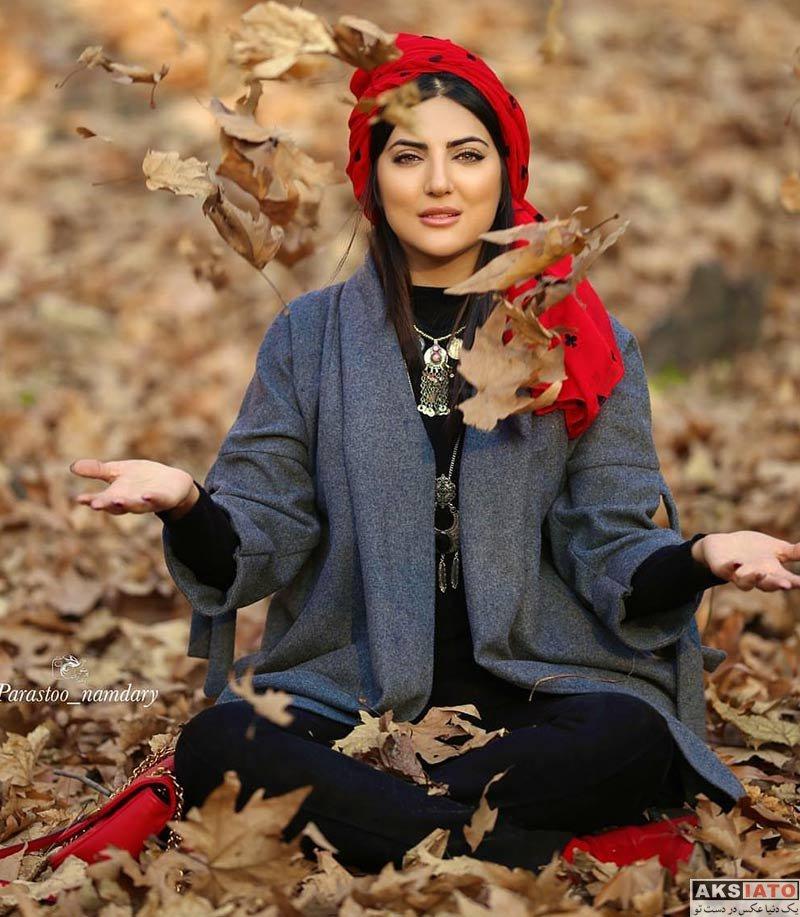 بازیگران بازیگران زن ایرانی  هلیا امامی بازیگر نقش مهربانو در سریال از یادها رفته (8 عکس)