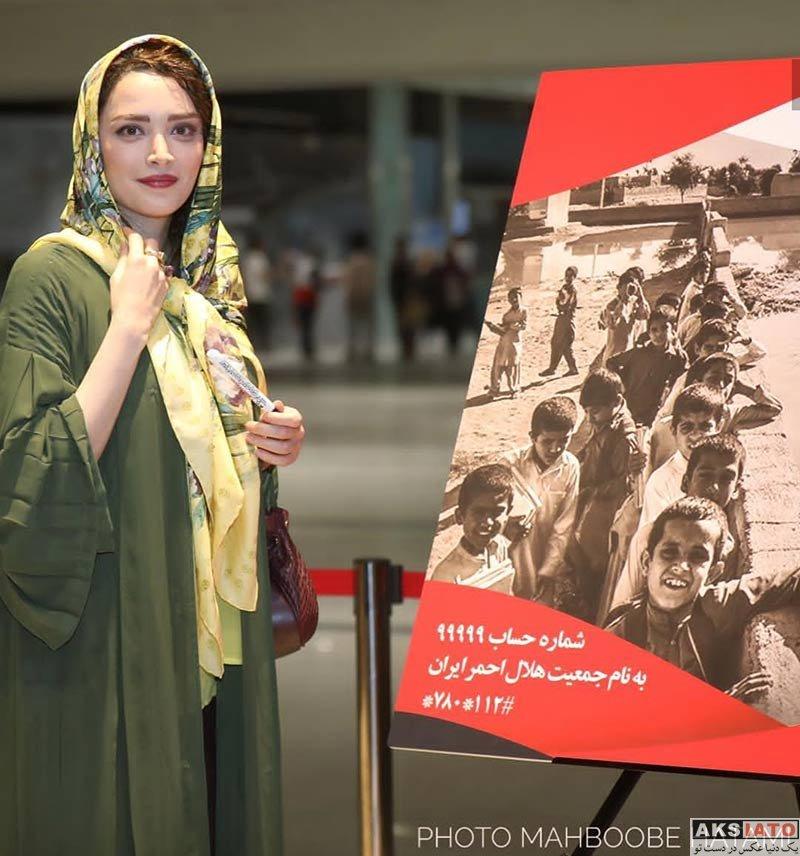 بازیگران بازیگران زن ایرانی  بهنوش طباطبایی در اکران خیریه فیلم غلامرضا تختی (4 عکس)