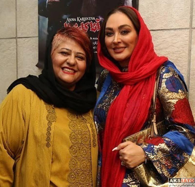 بازیگران بازیگران زن ایرانی  الهام حمیدی در اجرای نمایش آلفرد (۳ عکس)