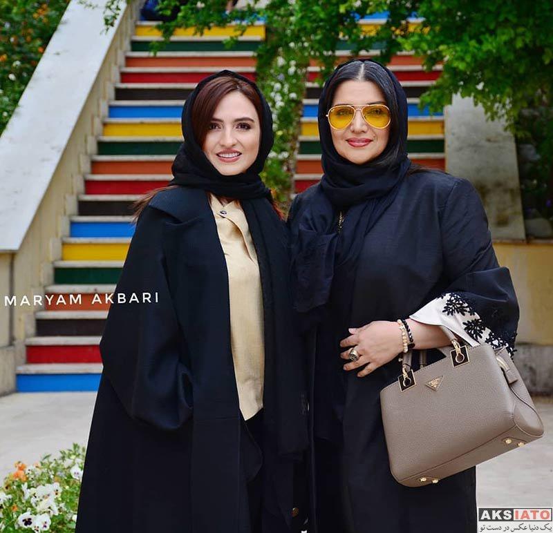 بازیگران بازیگران زن ایرانی  الهام پاوه نژاد در رونمایی از کتابهای شنیداری کانون پرورش فکری (4 عکس)