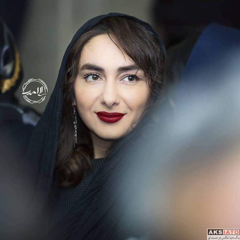 بازیگران بازیگران زن ایرانی  هانیه توسلی در اکران فیلم جهان با من برقص (4 عکس)