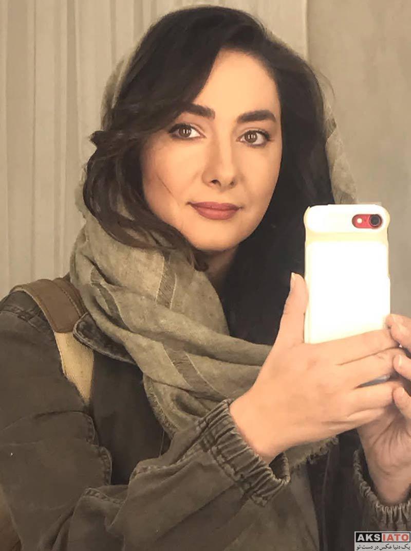 بازیگران بازیگران زن ایرانی  عکس های هانیه توسلی در اردیبهشت ماه 98 (8 تصویر)