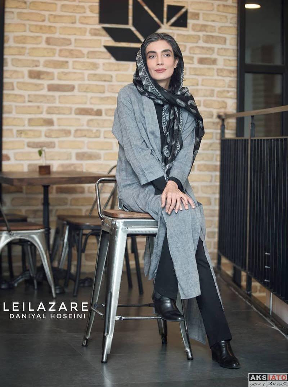 بازیگران بازیگران زن ایرانی  لیلا زارع در اکران مردمی فیلم خانه دیگری (4 عکس)