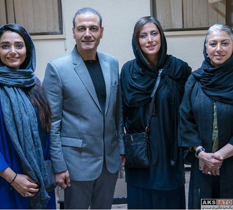 بازیگران بازیگران زن ایرانی  مهتاب کرامتی در کنسرت علی قربانی (2 عکس)