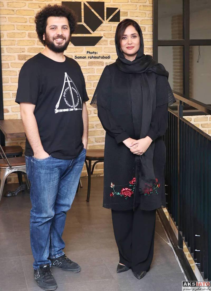 بازیگران بازیگران زن ایرانی  پریناز ایزدیار در اکران مردمی فیلم متری شش و نیم (5 عکس)