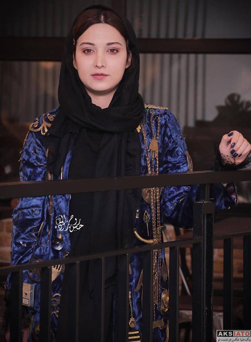 بازیگران بازیگران زن ایرانی  روشنک گرامی در اکران مردمی فیلم خانه دیگری (۴ عکس)