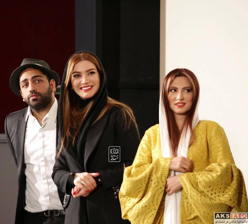 بازیگران بازیگران زن ایرانی  سمیرا حسینی در مراسم رونمایی از مجوعه رالی ایرانی (4 عکس)