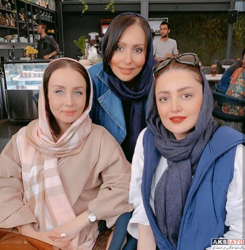 بازیگران بازیگران زن ایرانی  شیلا خداداد در جشن تولد همسر حدیث فولادوند (3 عکس)