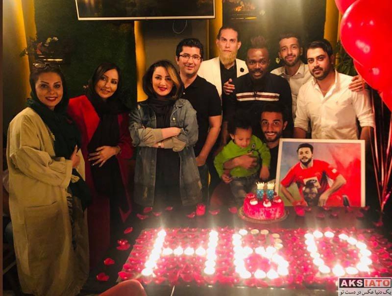 جشن تولد ۲۵ سالگی سیامک نعمتی (۲ عکس) - عکسیاتو