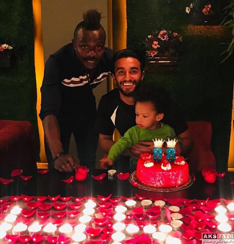 جشن تولد ها ورزشکاران ورزشکاران مرد  جشن تولد 25 سالگی سیامک نعمتی (2 عکس)