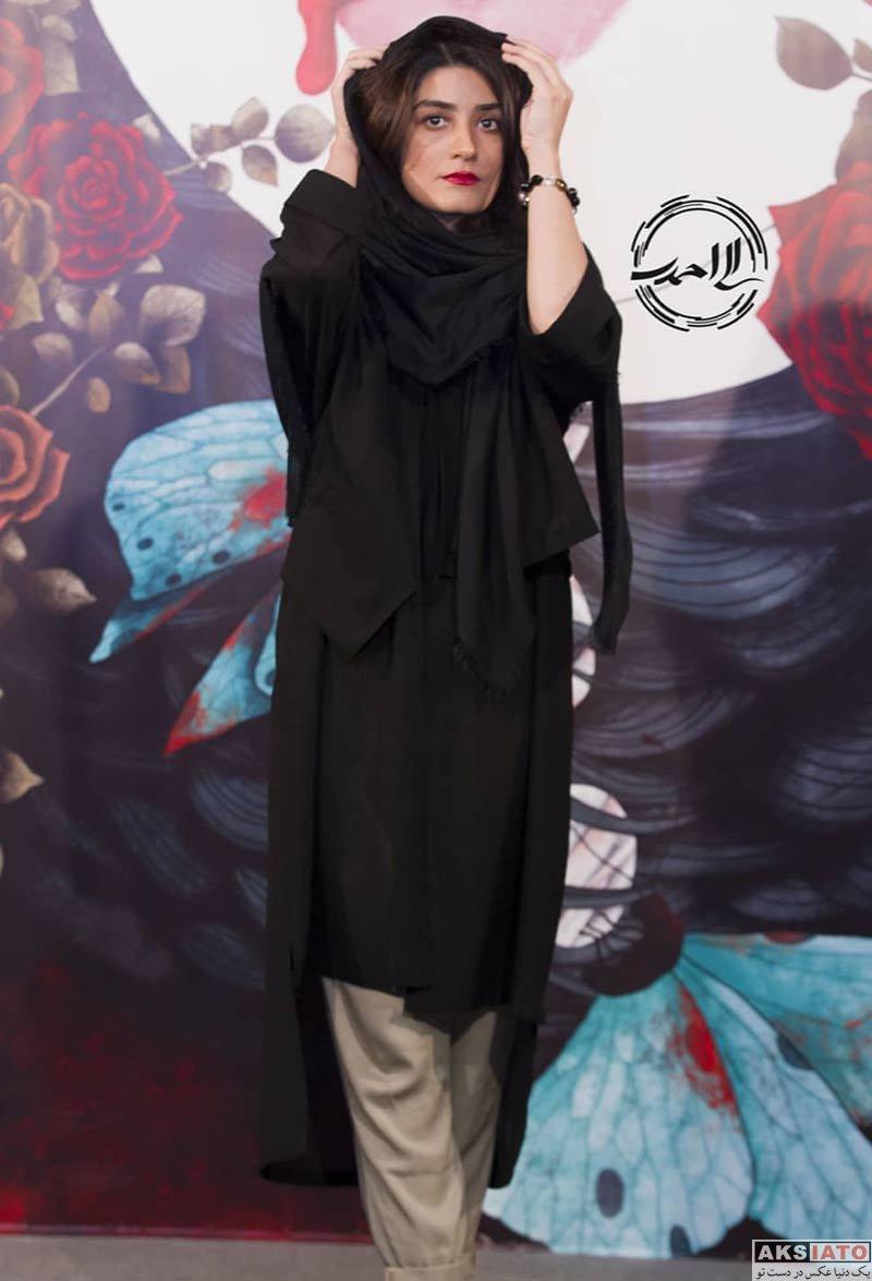 بازیگران بازیگران زن ایرانی  مژگان صابری در اکران خصوصی فیلم کارت پرواز (3 عکس)