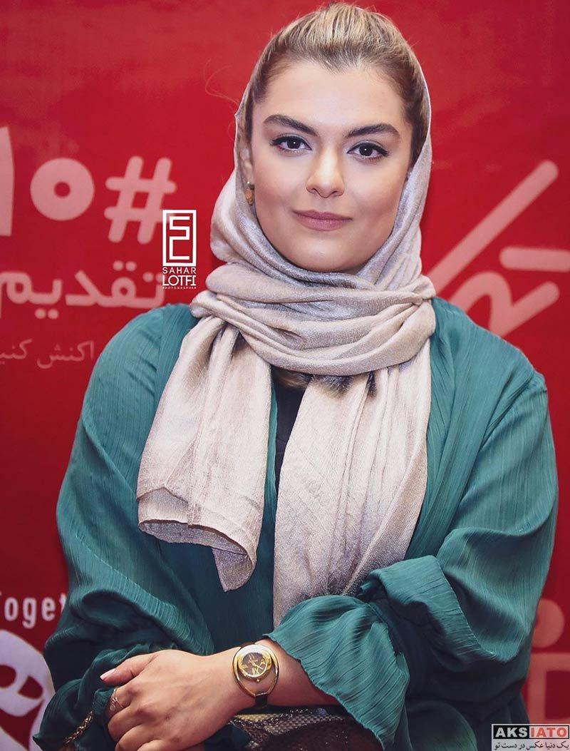 بازیگران بازیگران زن ایرانی  دنیا مدنی در اکران افتتاحیه فیلم ما همه باهم هستیم (۴ عکس)