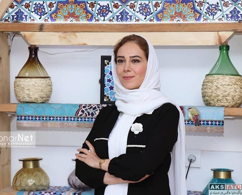بازیگران بازیگران زن ایرانی  الهام جعفر نژاد در افتتاحیه نمایش قصه ظهر جمعه (2 عکس)