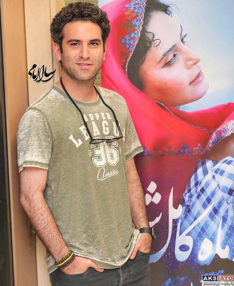 بازیگران بازیگران مرد ایرانی  هوتن شکیبا در اکران مردمی فیلم شبی که ماه کامل شد (3 عکس)