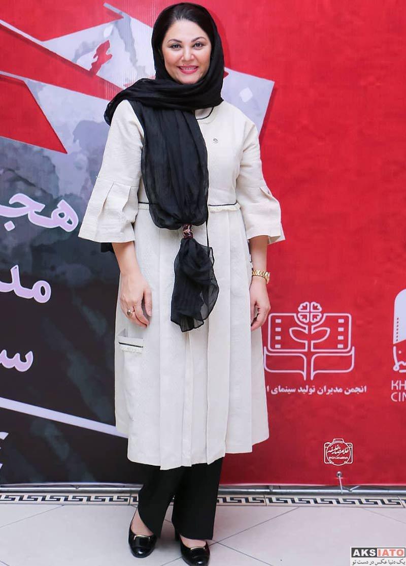 بازیگران بازیگران زن ایرانی  لاله اسکندری در  هجدهمین جشن مدیران تولید سینما (4 عکس)