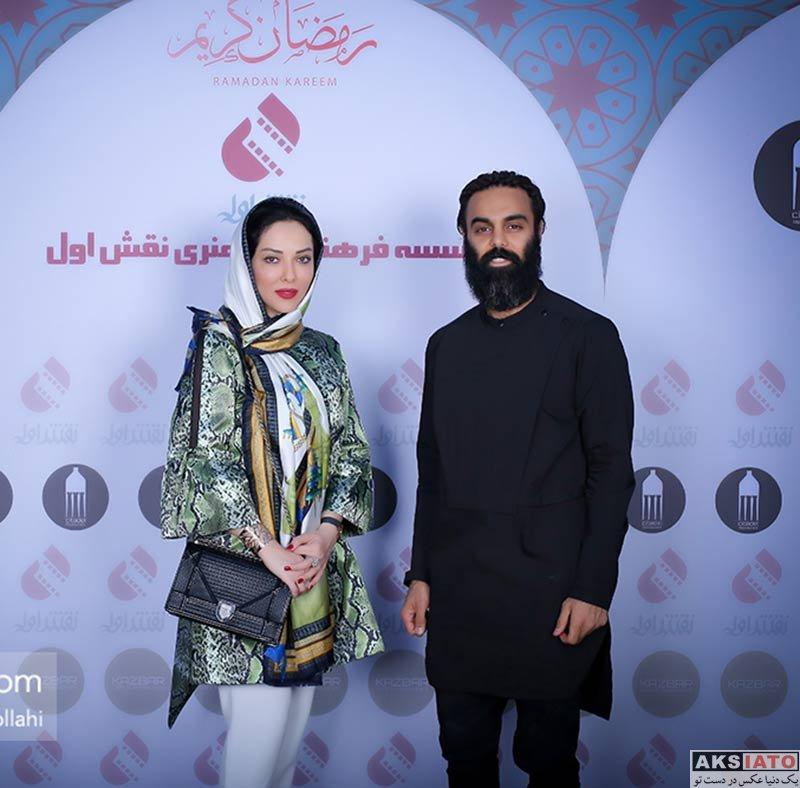 بازیگران بازیگران زن ایرانی  لیلا اوتادی در مراسم افطاری موسسه نقش اول (4 عکس)