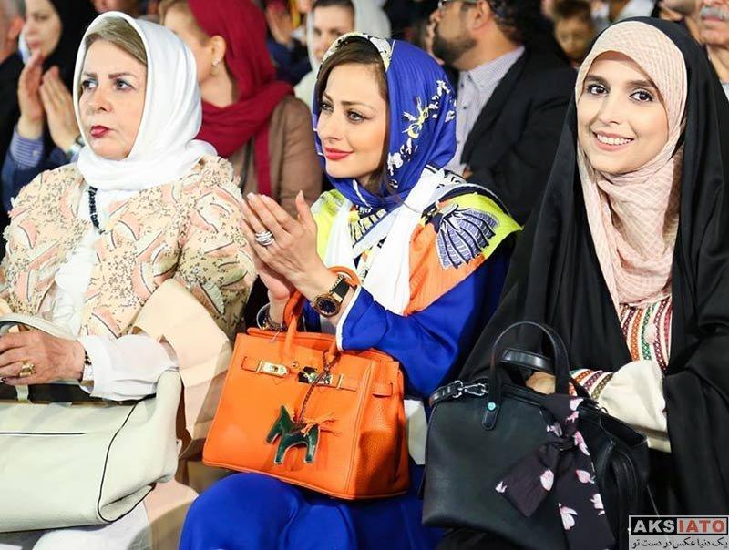 بازیگران بازیگران زن ایرانی  نفیسه روشن در جشن شهر نفس در خرداد ماه 98 (3 عکس)