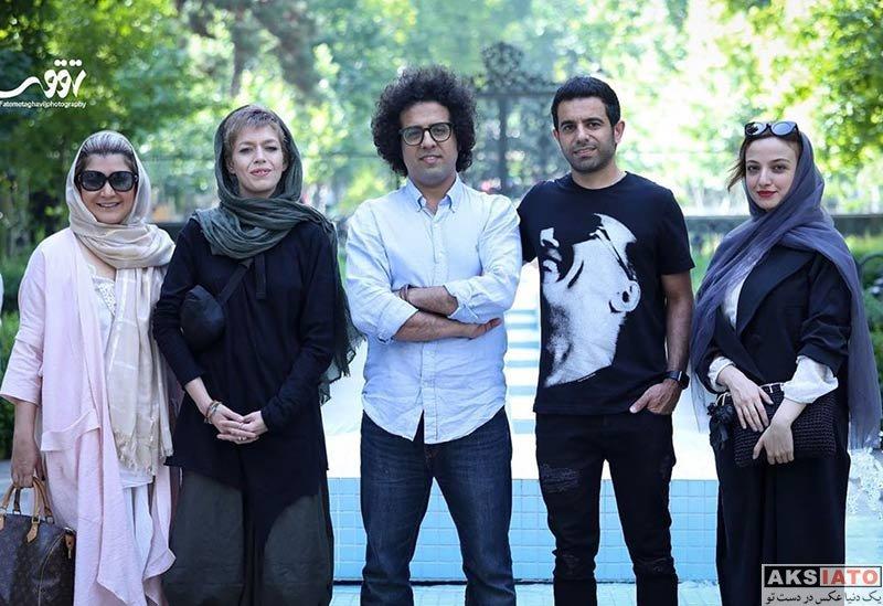 بازیگران بازیگران زن ایرانی  عکس های ندا جبرائیلی در اکران مردمی فیم «کارت پرواز»