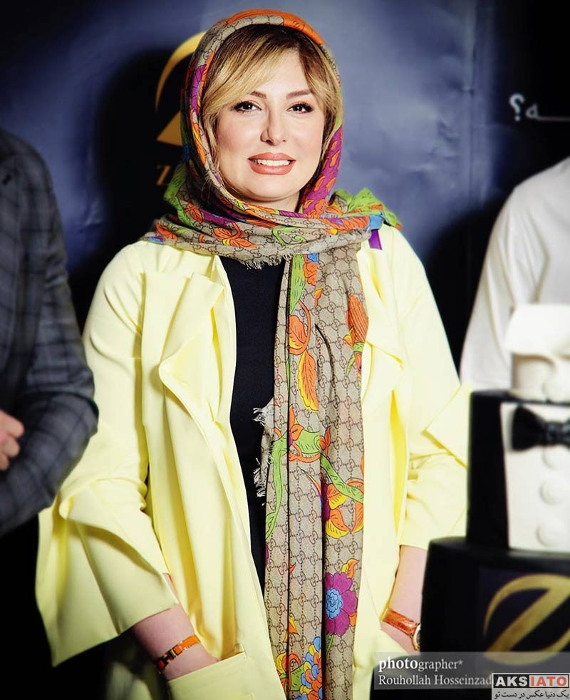 بازیگران بازیگران زن ایرانی  نیوشا ضیغمی در افتتاحیه فروشگاه لباس زاگرس (3 عکس)
