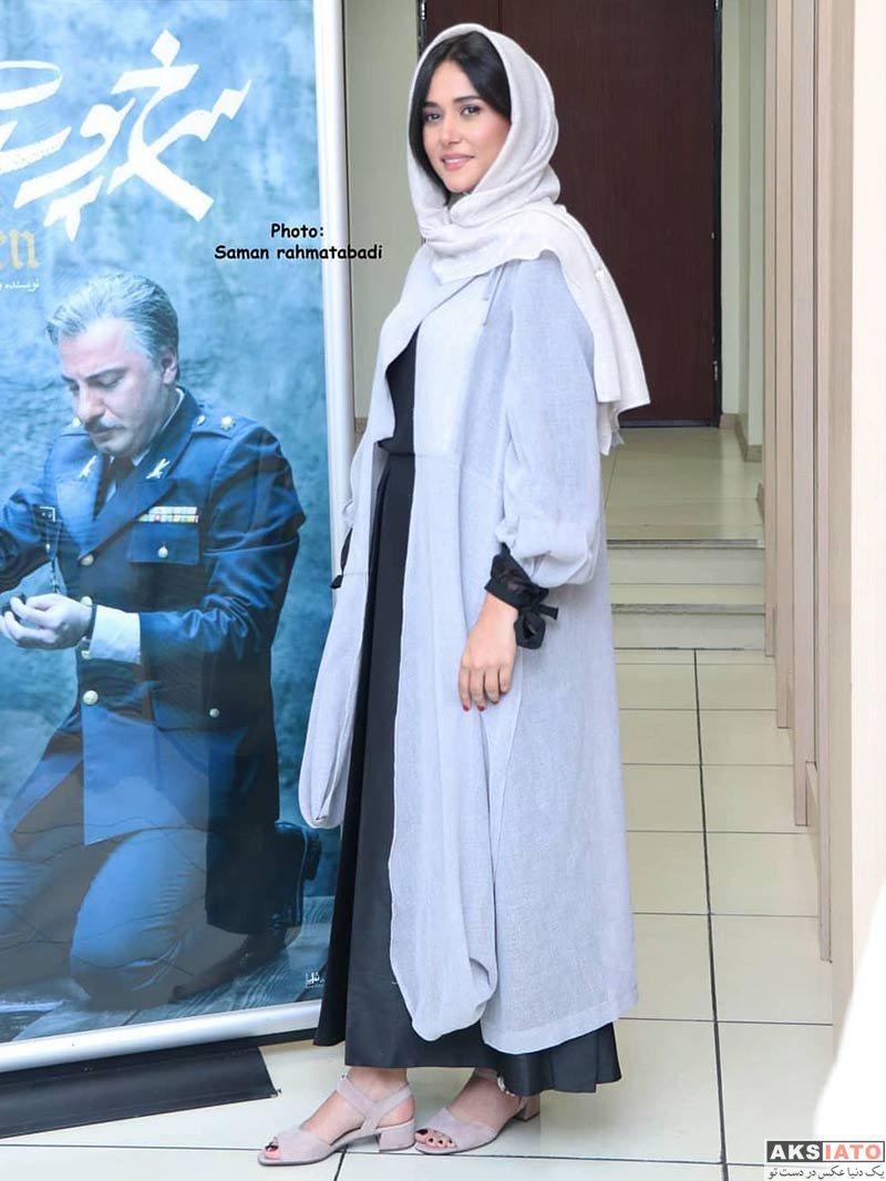 بازیگران بازیگران زن ایرانی  پریناز ایزدیار در اولین اکران مردمی فیلم سرخ پوست (6 عکس)