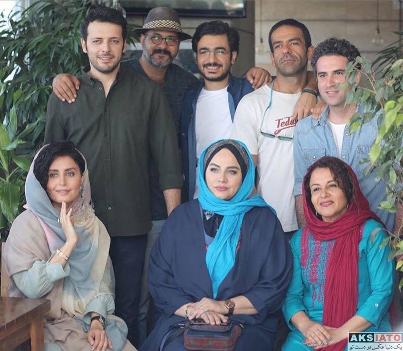 بازیگران بازیگران مرد ایرانی  پدرام شریفی در اکران مردمی فیلم شبی که ماه کامل شد (2 عکس)