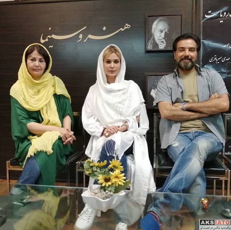 بازیگران بازیگران زن ایرانی  رز رضوی در آموزشگاه هنر و سینما (3 عکس)