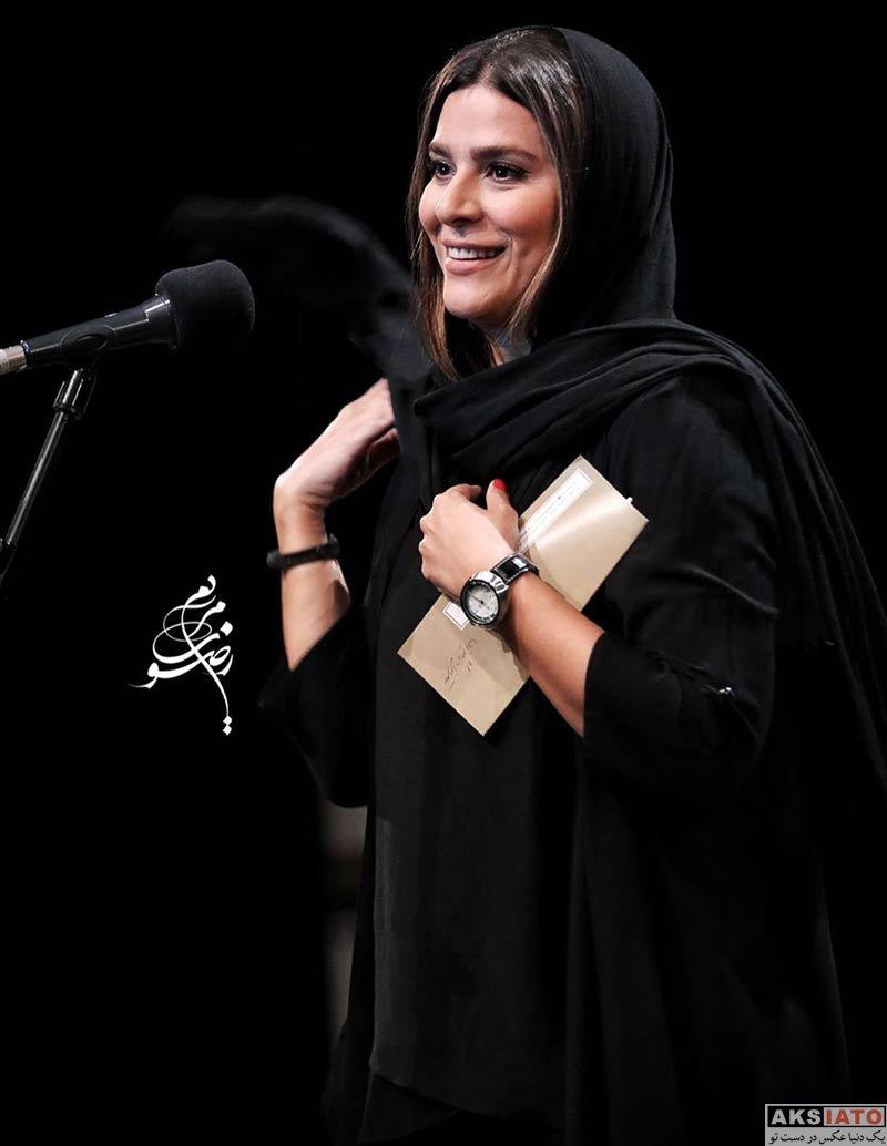 بازیگران بازیگران زن ایرانی  سحر دولتشاهی در اختتامیه جشنواره آموزگشاه 8 میلیمتری (3 عکس)