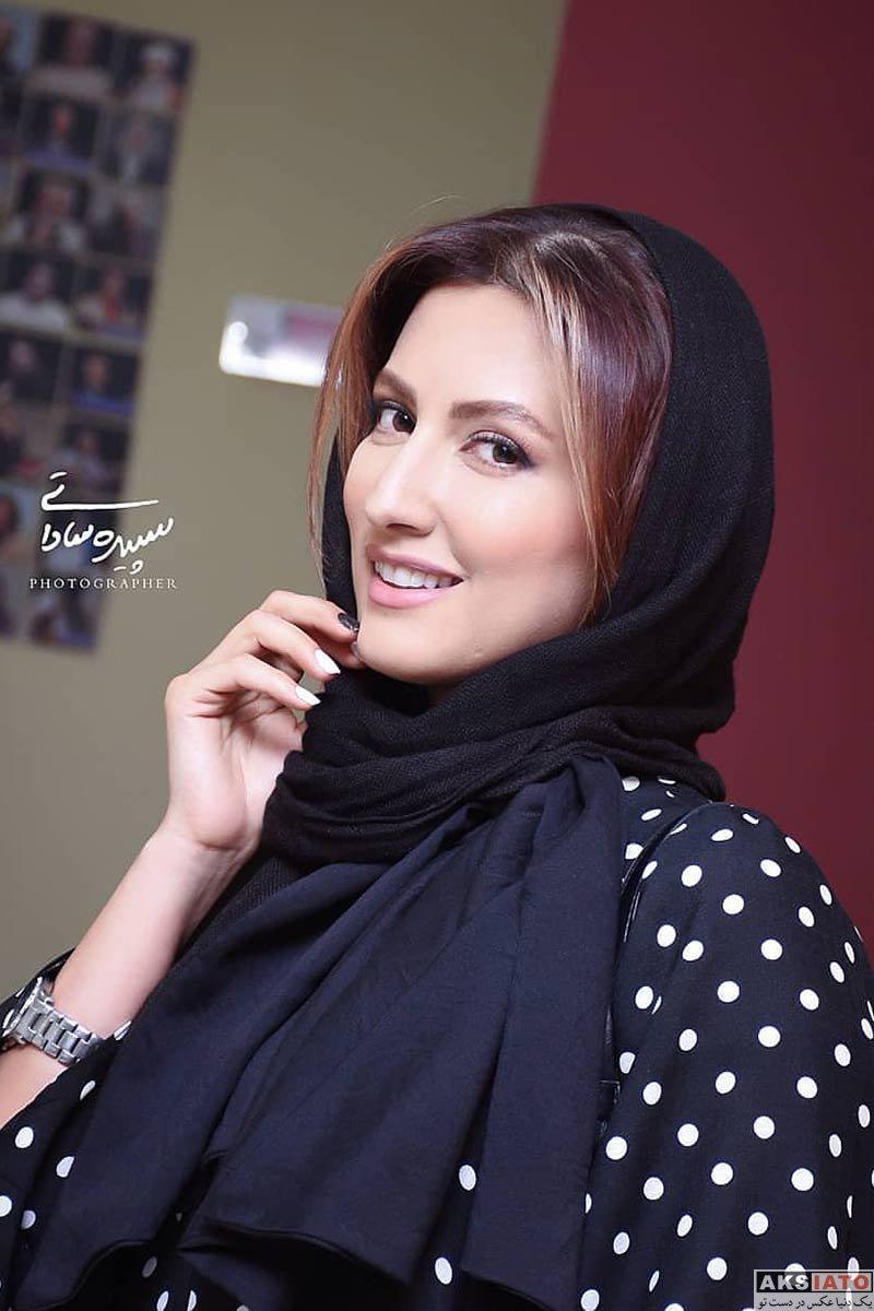 بازیگران بازیگران زن ایرانی  سمیرا حسینی در مراسم رونمایی سریال رالی ایرانی 2 (4 عکس)