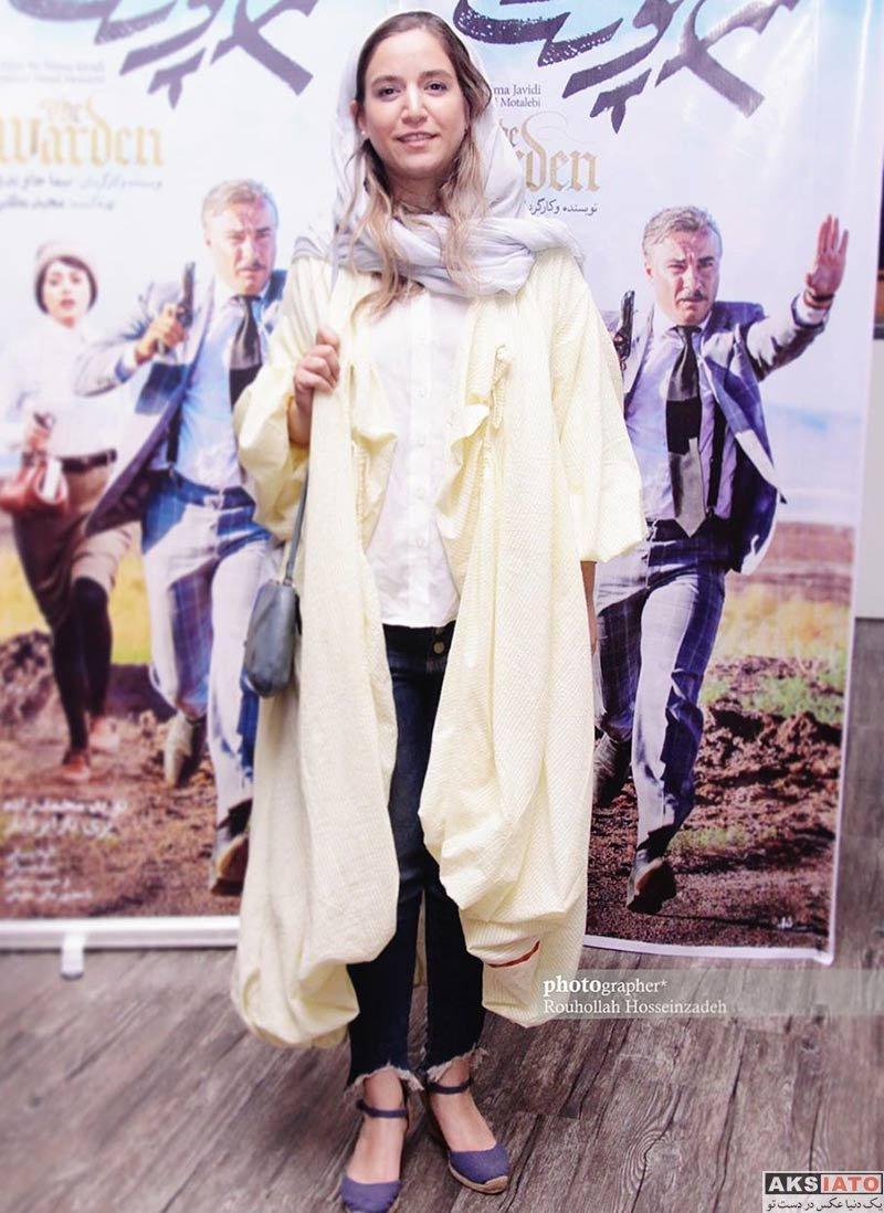 بازیگران بازیگران زن ایرانی  عکس های ستاره پسیانی در دومین اکران مردمی فیلم «سرخ پوست»