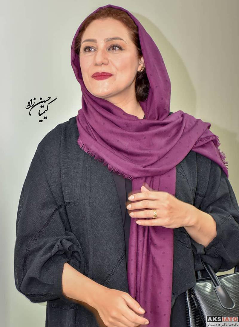 بازیگران بازیگران زن ایرانی  شبنم مقدمی در اکران مردمی فیلم شبی که ماه کامل شد (۳ عکس)