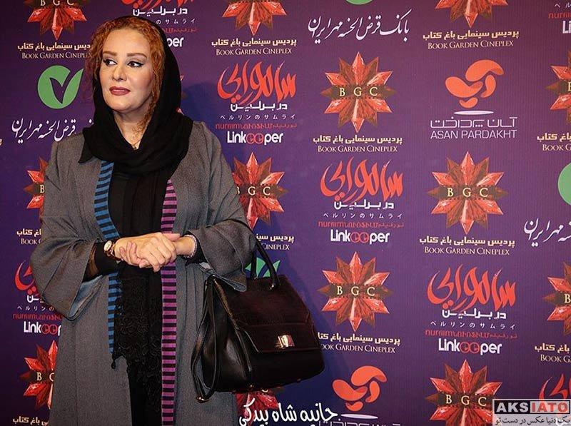 بازیگران بازیگران زن ایرانی  شیوا خسرومهر در اکران خصوصی فیلم سامورایی در برلین (3 عکس)