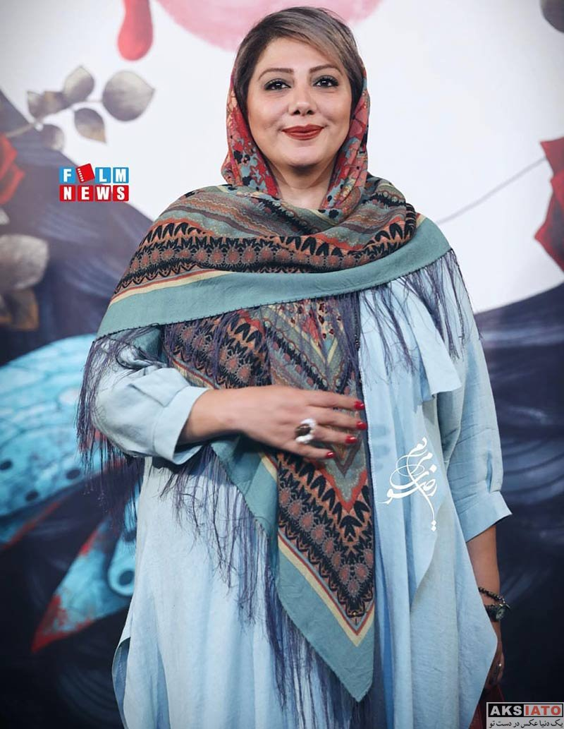 بازیگران بازیگران زن ایرانی  زهرا داوودنژاد در اکران خصوصی فیلم کارت پرواز (۳ عکس)