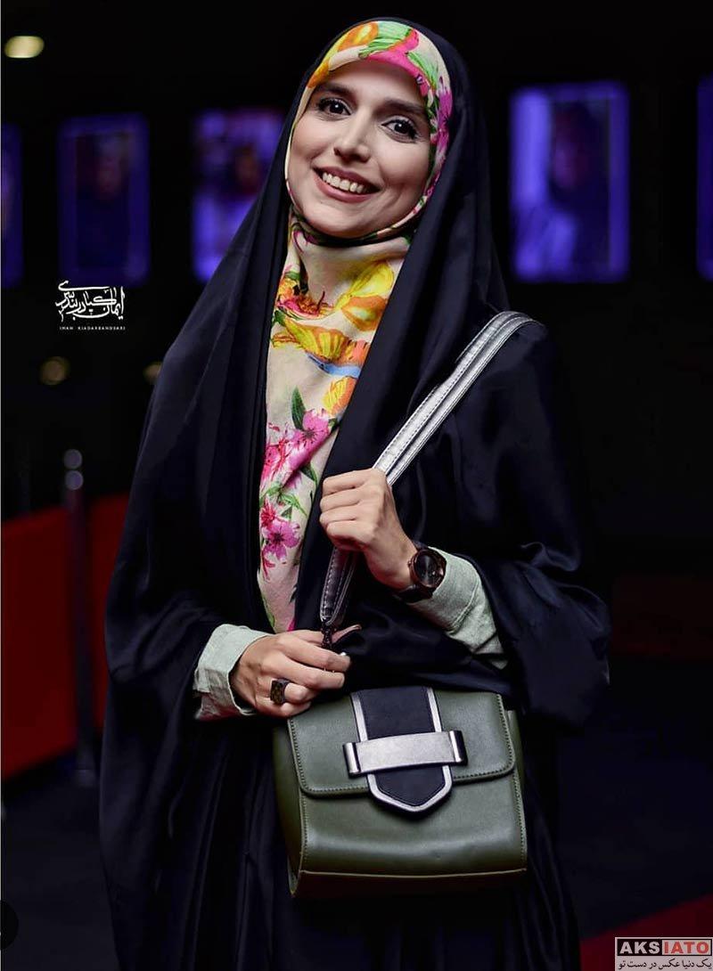 بازیگران بازیگران زن ایرانی  مژده لواسانی در اکران خصوصی فیلم سرکوب (3 عکس)