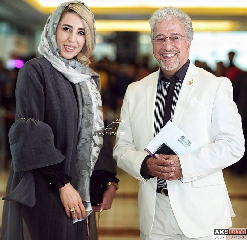 خانوادگی  علیرضا خمسه و همسرش در نوزدهمین جشن حافظ (1 عکس)