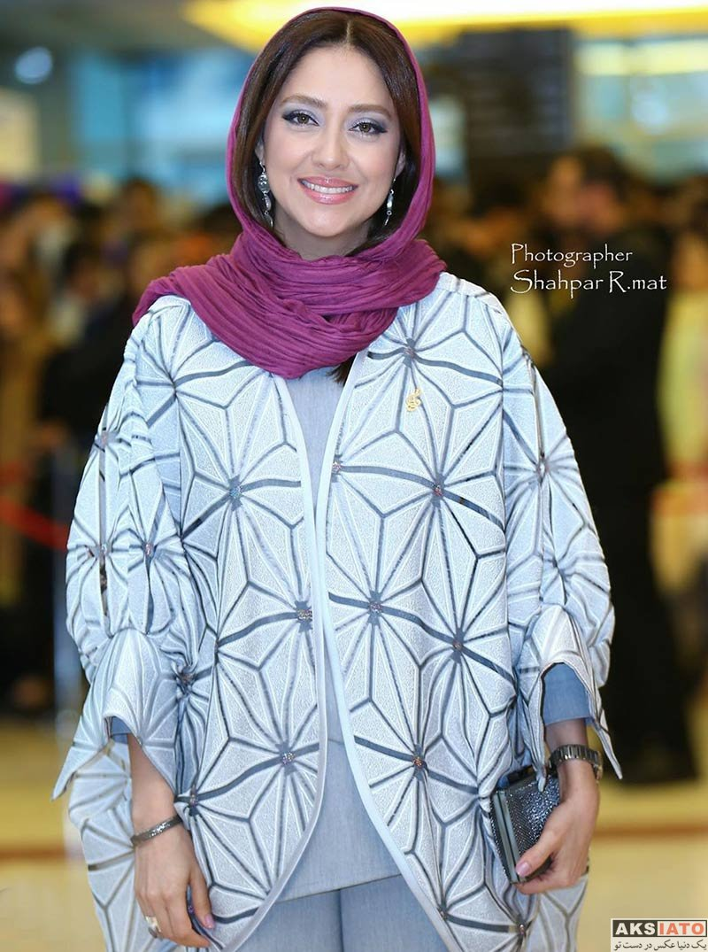 بازیگران بازیگران زن ایرانی جشن حافظ  بهاره کیان افشار در نوزدهمین جشن حافظ (4 عکس)