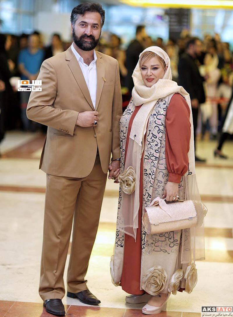 جشن حافظ خانوادگی  بهاره رهنما و همسرش در نوزدهمین جشن حافظ (2 عکس)