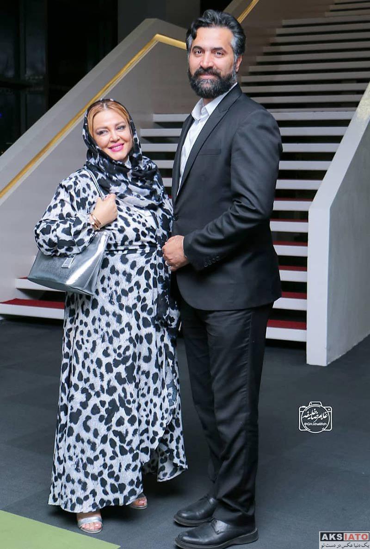 خانوادگی  بهاره رهنما و همسرش در اکران خصوصی فیلم سرکوب (2 عکس)