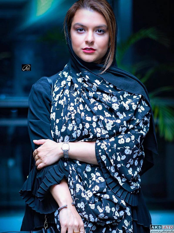 بازیگران بازیگران زن ایرانی  دنیا مدنی در اکران خصوصی فیلم قصر شیرین (۳ عکس)
