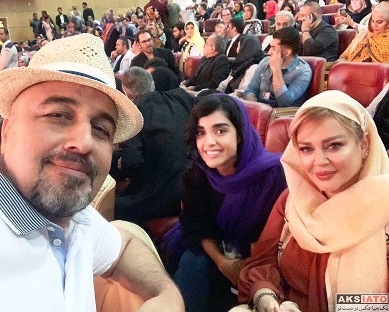 بازیگران بازیگران زن ایرانی جشن حافظ  الهه حصاری در نوزدهمین جشن حافظ (۳ عکس)