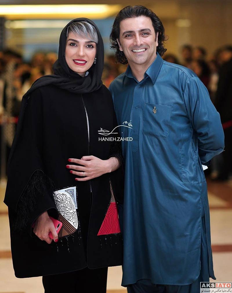 جشن حافظ خانوادگی  الیکا عبدالرزاقی و همسرش در نوزدهمین جشن حافظ (2 عکس)