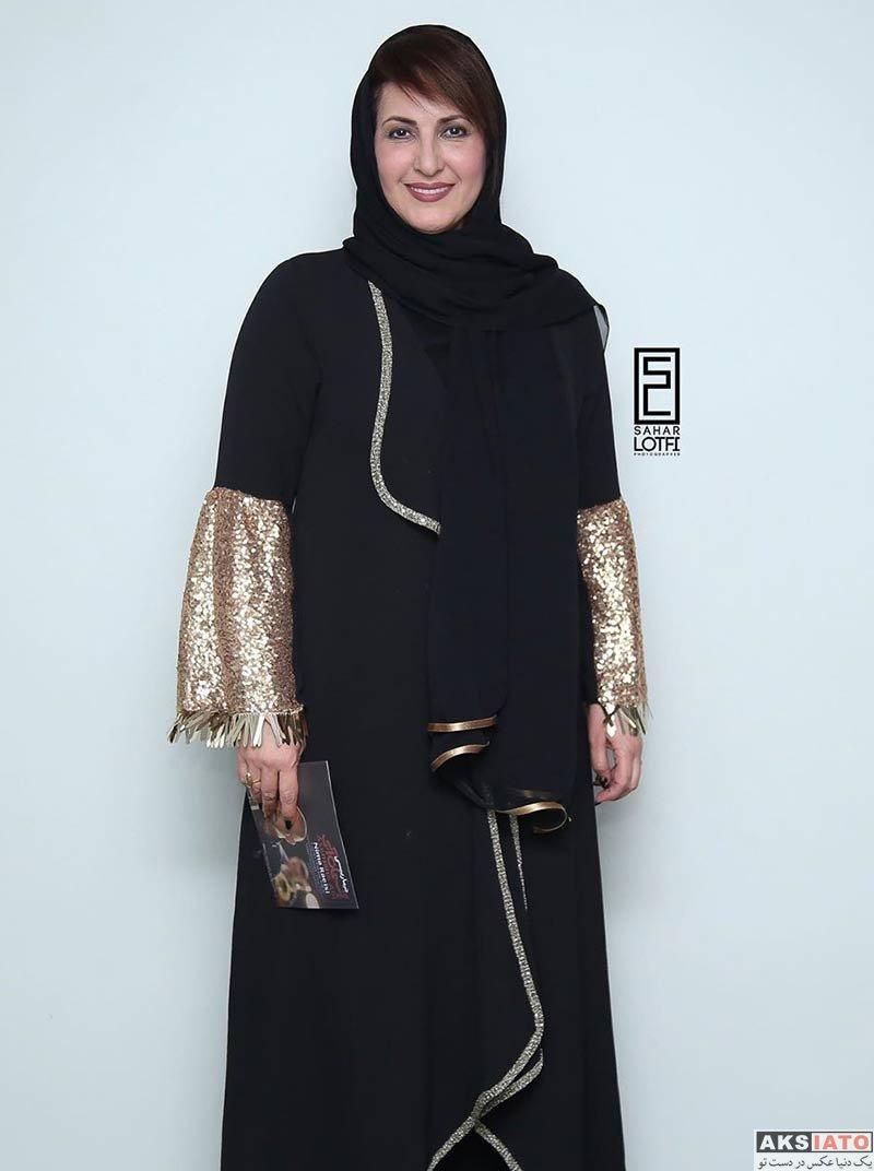 بازیگران بازیگران زن ایرانی  فاطمه گودرزی و دخترش در کنسرت نیما رئیسی (2 عکس)