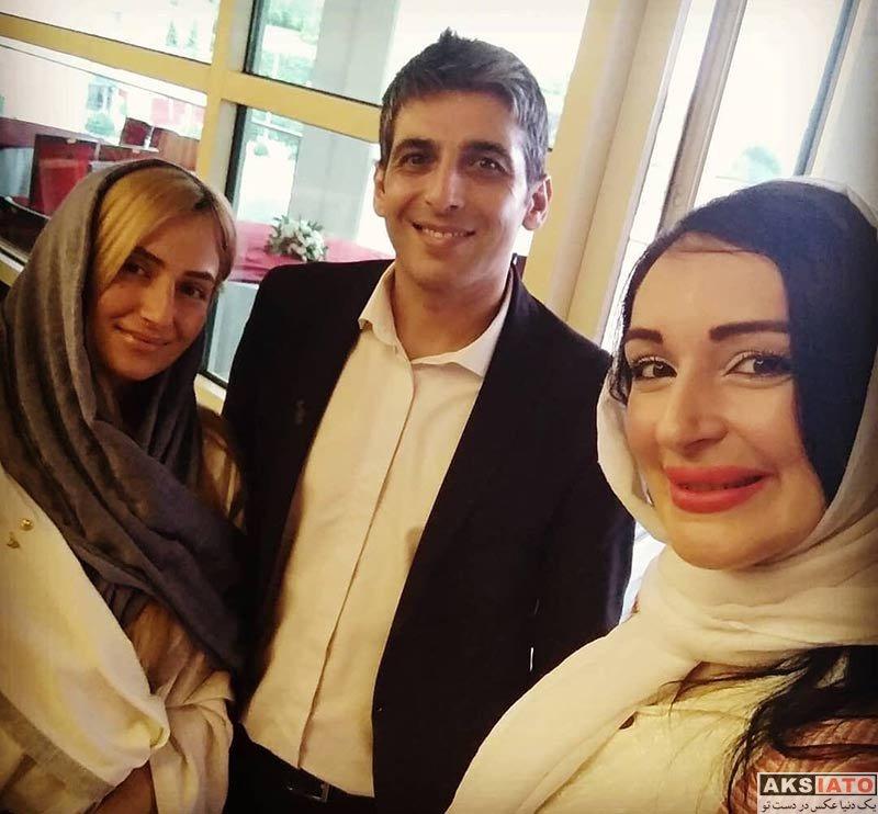 جشن حافظ خانوادگی  حمید گودرزی و همسرش در نوزدهمین جشن حافظ (عکس)