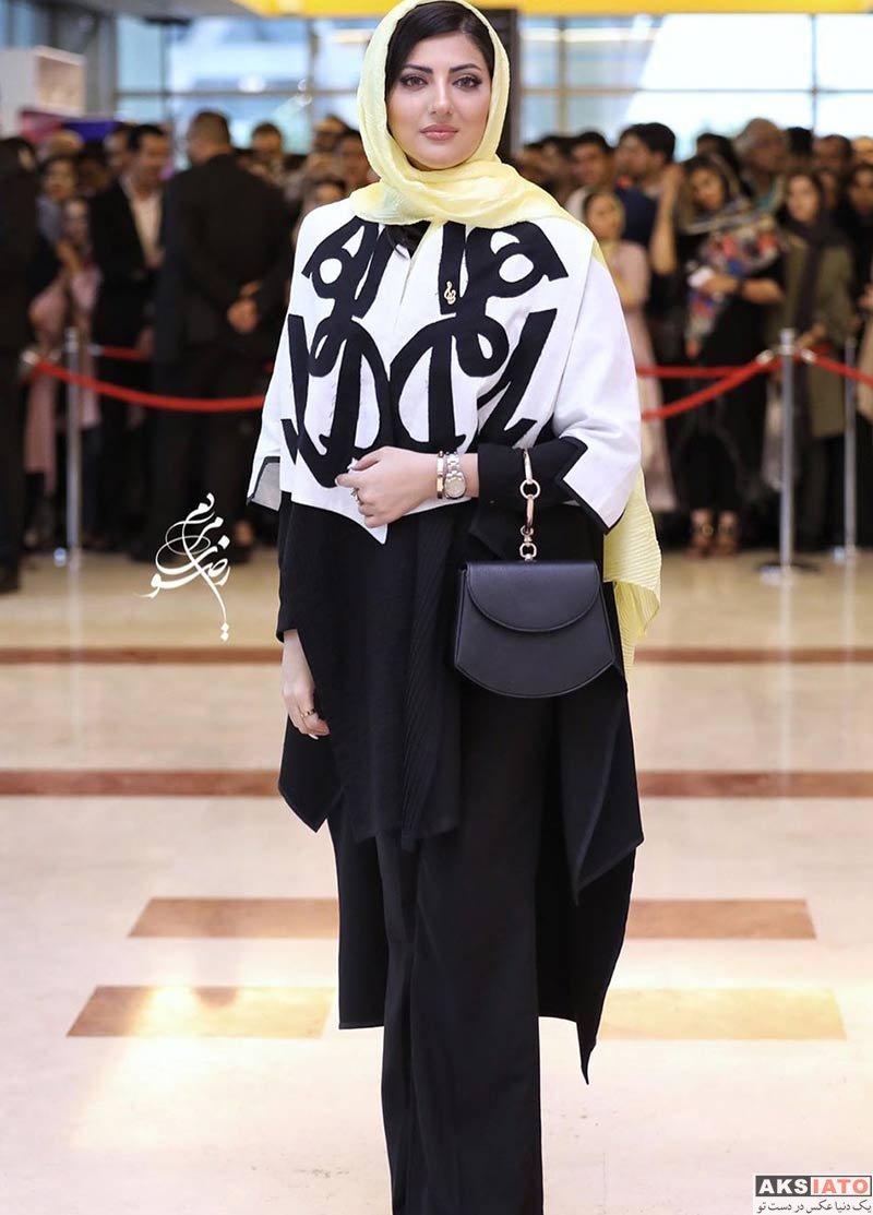 بازیگران بازیگران زن ایرانی جشن حافظ  هلیا امامی در نوزدهمین جشن حافظ (۳ عکس)