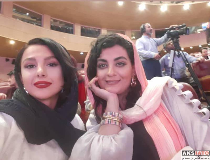 بازیگران بازیگران زن ایرانی جشن حافظ  جوانه دلشاد در نوزدهمین جشن حافظ (۳ عکس)