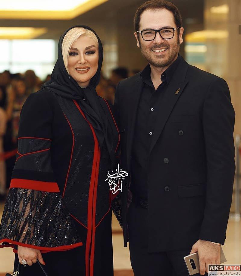 جشن حافظ خانوادگی  کوروش تهامی و همسرش در نوزدهمین جشن حافظ (2 عکس)