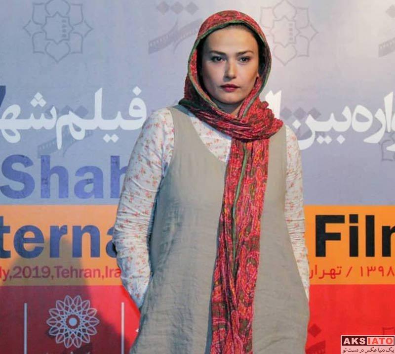 بازیگران بازیگران زن ایرانی  لادن مستوفی در روز سوم هفتمین جشنواره فیلم شهر (۳ عکس)